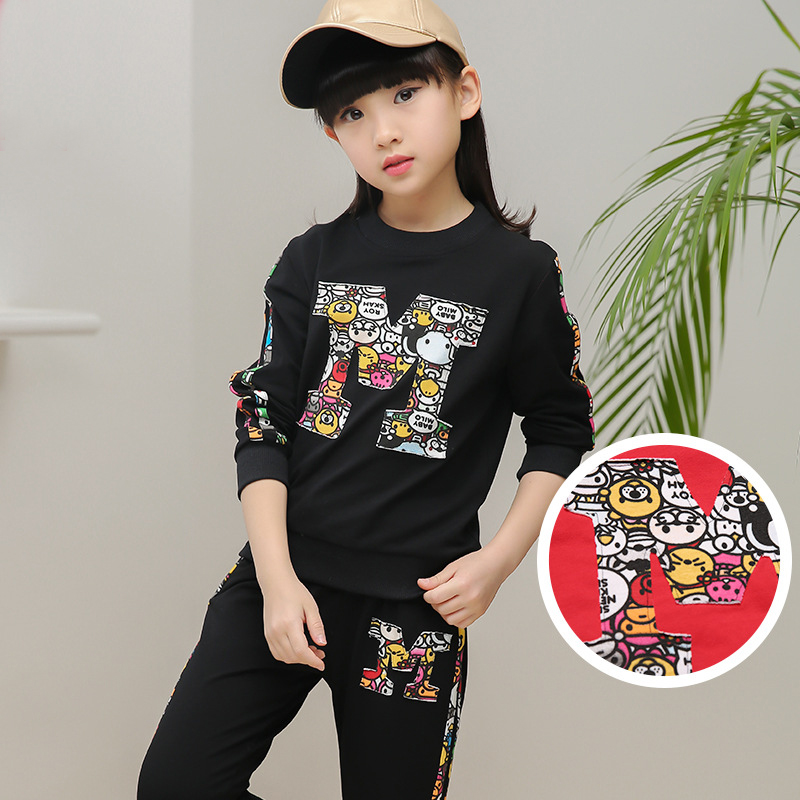 2017 Girl Clothing set Spring &amp; Autumn Children Pants Twinset Kids Casual Sports Suit Girls Clothing Sets &amp; Tracksuits<br><br>Aliexpress
