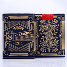 1 Deck of Theory11 Monarch Playing Cards Monarchs Poker Magic Deck by T11 Magic Tricks magic card 81240(China)