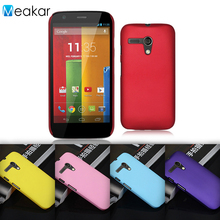 Grind arenaceous Hard Plastic shell 4.5For Motorola Moto G Case For Motorola Moto G XT1032 Cell Phone Back Cover Case