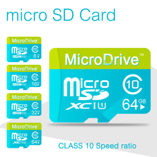 Newest Micro  SD card memory card  sd card 4GB/8GB/16GB/32GB/64GB class 10 for cell phones tablet with retail package
