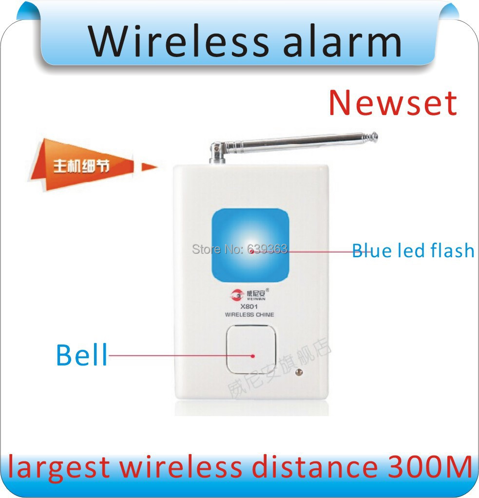 Newest Wireless X861  mall security/villa anti-theft/Infrared Motion Sensor Detector Alarm Remote Home Security System<br>