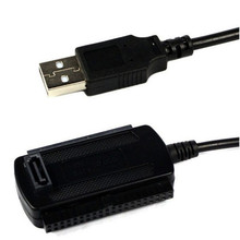 New USB 2.0 to IDE SATA Converter Adapter Cable for 2.5 3.5 Hard Drive Disk HDD