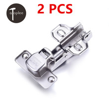 NEW SALE 2 PCS Hydraulic Soft Close Cabinet Kitchen Hinge for Parallel Door Furniture Hardware CRS Door Hinges