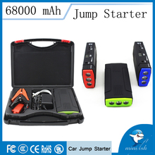 Promotion Multi-Function Mini Portable Mobile Emergency Battery Charger Car Jump Starter 68000mAh Booster Starting Power Bank
