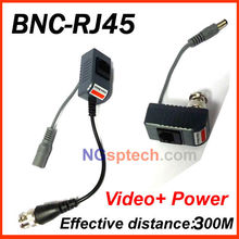 DONPHIA CCTV RJ45 UTP Video Balun Transceiver, with Video and Power
