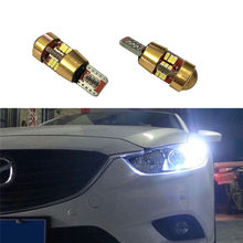 2x Canbus T10 W5W LED Car Parking Light Projector Lens For Mitsubishi Asx Lancer 9 10 Pajero Outlander l200 Colt Galant