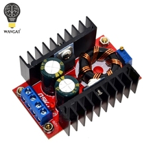 150W Boost Converter DC-DC 10-32V to 12-35V Step Up Voltage Charger Module Freeshipping Dropshipping WAVGAT