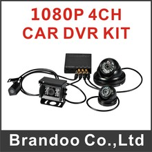 4CH HD Hard Drive Mobile DVR(1080P+WIFI+G-Sensor+hd camera+video cable) FROM Brandoo
