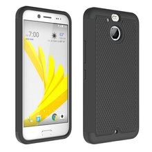Shockproof Slim Hybrid Dual Layer Armor Defender Football Pattern Protective Case Cover For Htc Evo 10 / HTC Bolt
