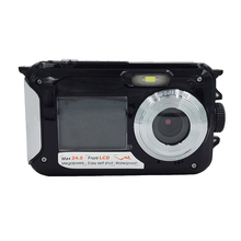 "1080P HD Waterproof Digital Camera 24MP 2.7"" TFT photo camera 16x Zoom Smile Capture Anti-shake Video Camcorder"
