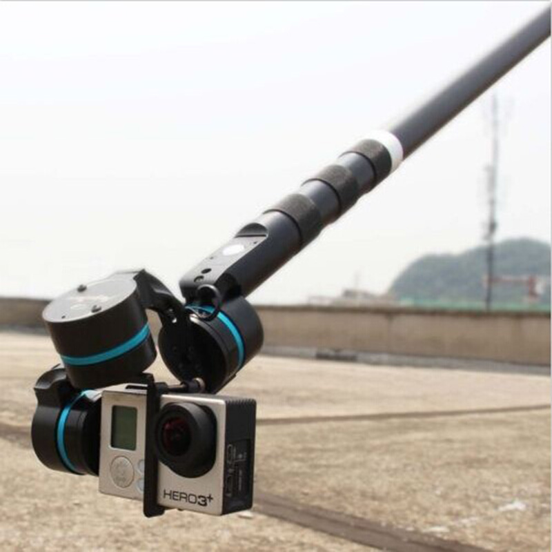 FEI YU G3 G4 Ultra Handheld Gimbal Carbon Fiber Extension Rod Tube 37cm with Switch<br>