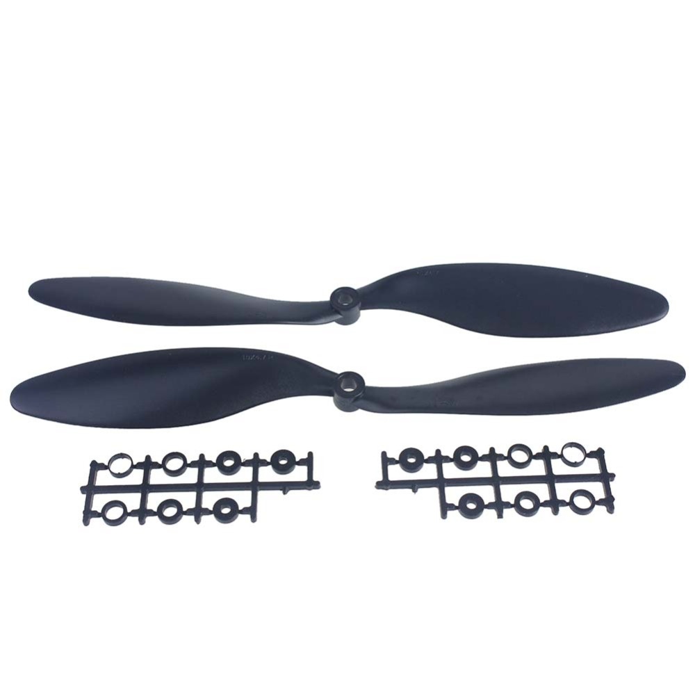 F02143-1Pair-10x4-7-1047-1047R-CW-CCW-Propeller-Props-Plastic-for-RC-Multi-Rotor-Copter