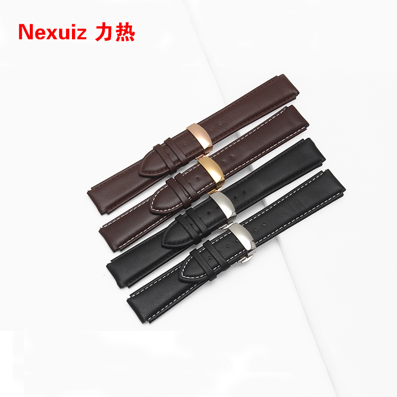2017 New Huawei  Watchband 22*18mm Genuine Leather Watchbands Strap Bracelets with Butterfly  Buckle Free Shipping<br><br>Aliexpress