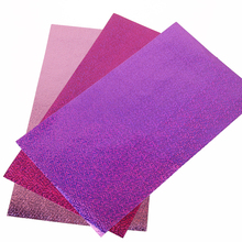david angie 20*34CM Nonwovens Ultrathin Laser Fabric 2Pcs,Hologram Holographic Fabric,DIY Handmade Materials,2Yc2201