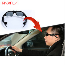 RAXFLY Wireless Bluetooth Earphone Sunglasses Headset Stereo Music Phone Call Hands Free Driving Sunglasses mp3 Riding Eye Glass