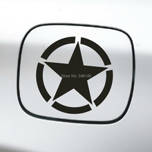 The US Army Star Reflective Car  Sticker Whole Body Decal for JEEP Toyota Ford Chevrolet Volkswagen Tesla Honda Hyundai Lada