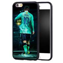 Lionel MESSI  football NO.10 Art case cover for Samsung Galaxy s6 S7 edge S8 plus s4 s5 note 2 3 4 5