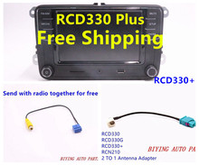 "RCD330G Plus RCD330 RCD510 RCN210 Car 6.5"" MIB UI Radio For Golf 5 6 Jetta CC Tiguan Passat"