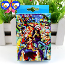 A TOY A DREAM 54 pcs/pack Anime One Piece Luffy, Joba, Robin members Collection Playing Poker Cosplay Board Game Cards Toys Gift