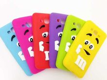 For Samsung Galaxy Grand Prime G530 530 phone cases New Fashion 33D M&M 's Chocolate Rainbow Beans soft silicone cover