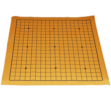 Go chess table cloth 46.5*50cm Standard Go Game Chess Board Cloth Mat The game of GO(China)