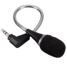 Universal 3.5mm Jack Flexible Mini MIC Microphone For Laptop PC Notebook Computer For Skype Chat Microphone Best Price(China)