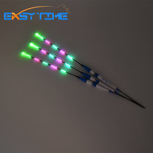 Easy Time New Five Full With Bead Float Fishing Night Vision Light Electric Fishing Float Fishing Tackle 3pcs/Lot