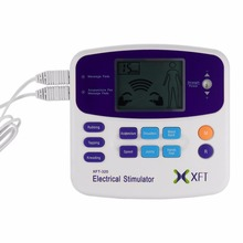 Professional XFT-320 Electrical Stimulator Massager Dual Tens Machine Digital Massage Body Relaxation Worldwide sale 2017 Hot(China)