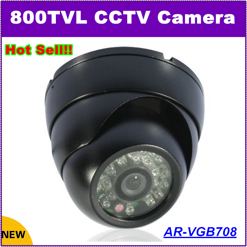 2017 New HD 800TVL CCTV Dome Camera 1/3 CCD  Surveillance Camera Security System Free shipping <br><br>Aliexpress