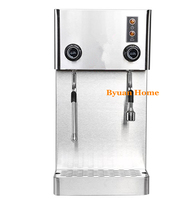 NEW Commercial work table fully automatic milk steamer coffee frother electric & frothing coil cappuccino latte coffee foaming