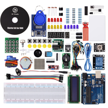 HX Studio UNO Project Super Starter Kit Included UNO R3,LCD1602 IIC with Tutorial for Arduino(China)