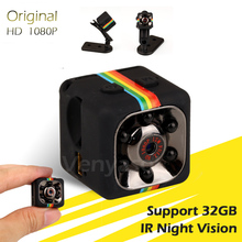 Mini Camera 1080P SQ11 Infrared Night Vision Camcorder Video Recorder Espia DV Security Sport Portable Micro Cam(China)