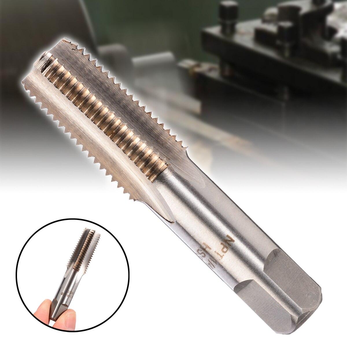 Lots 1pc HSS Machine 1//4-18 NPT Plug Tap and 1pc 1//4-18 NPT Die Threading Tool