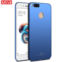 "Buy MSVII Coque Xiaomi Mi 5X Case 360 Full Body Cases Hard Frosted Smooth PC Back Cover Xiaomi Mi 5X Xiaomi Mi5X Case 5.5"" for $3.99 in AliExpress store"