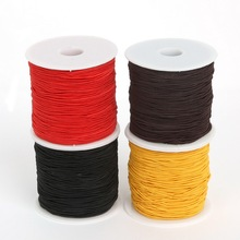 Dia 0.8/1.2/1.5mm Round Elastic Cord Beading Stretch Thread/String/Rope For DIY Jewelry Making Necklace Bracelet 40-100meters