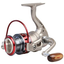 Spinning Fishing Reel CM1000-7000 Series Metal Fishing Reel 5.5:1 10BB + 1 Bearing Balls Carp Fishing Wheel Left and Right Hand