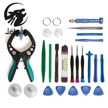 Jelbo Mobile Phone Repairing Equipment For iPhone 5 6 LCD Screen Opening Tool Screwdriver Set Suction Cup Phone Repair Tools Kit(China)