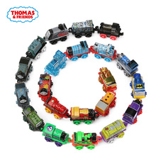 5pcs Thomas&Friends James Gordon Emily Annie Clarabel Mini Trains Diecast Metal Magnetic Trackmaster Wooden Railway Classic Toys(China)