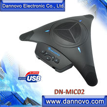DANNOVO USB Omni-directional Speakerphone,360 degree Pickup, Plug and Play,for Windows,MAC,Linux, Skype,Lync,MSN