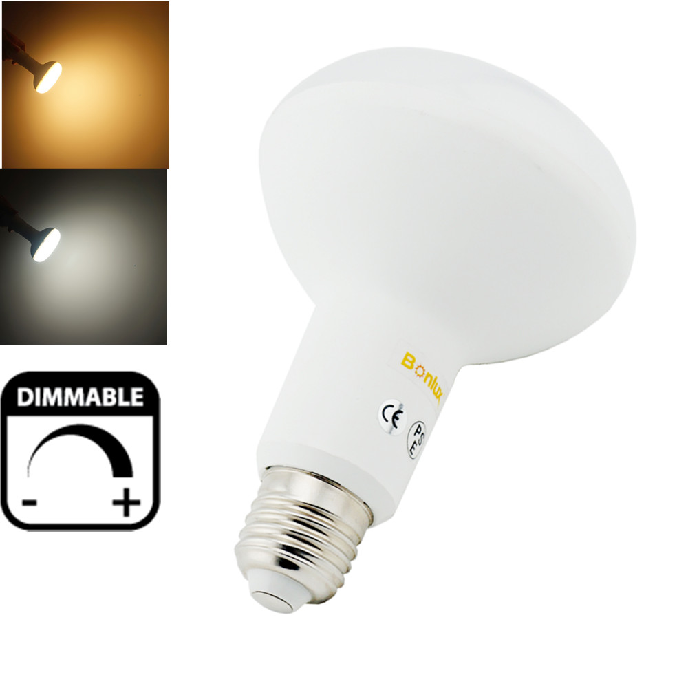 LED BR30 R95 Light Bulb 15W Dimmable E26 E27 LED Light Mushroom Umbrella Bulb Lamp with 75-100w Halogen Lighting Equivalent<br><br>Aliexpress