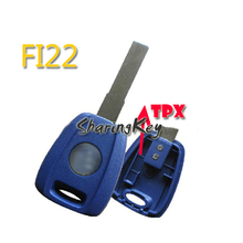 10pcs/lot Transponder Key Blank Shell For Fiat For TPX Chip SIP22 Blade