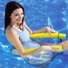 1Pcs Noodle Pool Floating Chair 6.5*150cm Swimming Pool Seats Amazing Floating Bed Chair Pool Noodle Chair