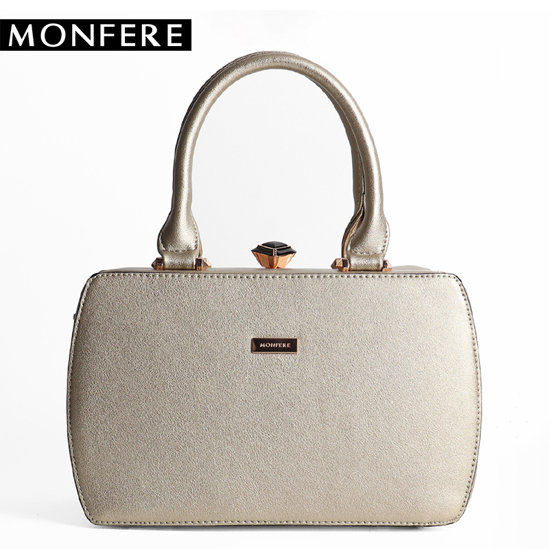MONFERE luxury Brand women bags designer Small frame Handbag top-handle tote bag high quality PU leather elegant messenger bags <br>
