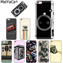 Buy MaiYaCa Vintage Camera audio tape cassettle black soft tpu Phone case cover Apple iPhone 8 7 6 6S Plus X 5 5S SE 5C case for $1.43 in AliExpress store