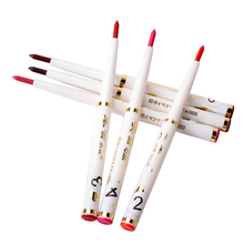 New Brand Automatic Rotary Natural Lip Liner Long-lasting Makeup Sexy Products Lipliner Lady Beauty Red Lip Pencil Waterproof(China)
