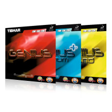 TIBHAR GENIUS / GENIUS + OPTIMUM / SOUND Germany Table Tennis Rubber Ping Pong Sponge(Hong Kong,China)