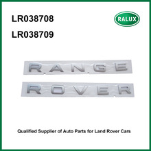 LR038708 LR038709 new auto rear name plate for Range Rover Sport 13- auto brand letter sticker high quality aftermarket parts