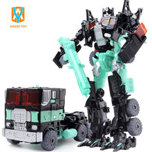 Movie Transformation Robot Car Toys Cool Classic Toys Anime action figures Toys Deformation Robot Toys for gift Brinquedos(China)