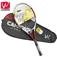 CAMEWIN Brand 1 Piece High-quality Carbon Fiber Tennis for tenis masculino Men and Women Racket with Tennis Bag raquete de tenis(China)