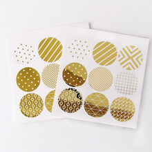 nice 90pcs gold design Stickers as Food Tags Labels Gift Tag,birthday Home Christmas Decoration Adhesive Sticker